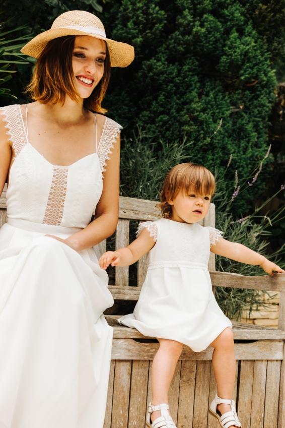 Robe Maloya et robe enfant